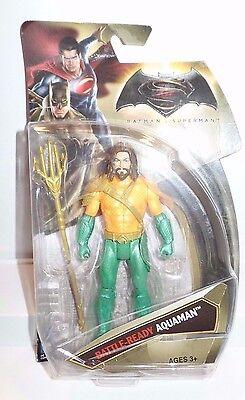 DC Comics Multiverse Batman V Superman:Dawn Of Justice Battle-Ready Aquaman...