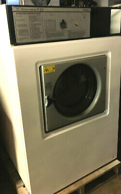 Wascomat 50lb Washer W185 In White Refurbished Single Phase