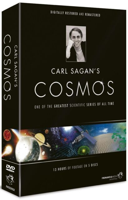 """COSMOS CARL SAGAN COMPLETE SERIES COLLECTION 5 DISC BOX SET R4 """"NEW&SEALED"""""""