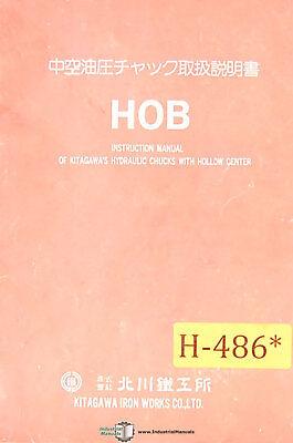 Hob Kitagawa Hydraulic Chucks Install And Maintenance Manual
