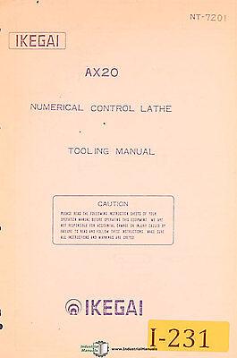 Ikegai Ax20 Nc Lathe Tooling Manual