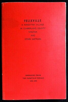 FELIXVILLE, VIRGINIA - CUMBERLAND COUNTY - Farmville, VA Buckingham, Charlotte