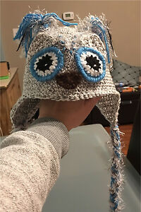 Crochet Snowy Owl Hat + London Ontario image 1