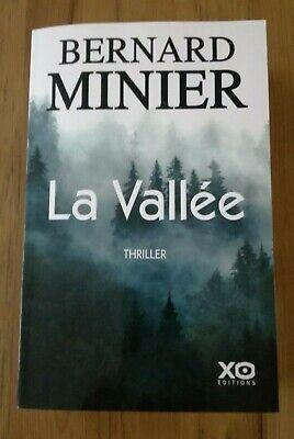 Nouveau livre thriller de Bernard Minier La Vallée XO éditions