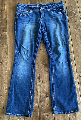 """Red Camel Premium Denim Juniors Size 15 Bootcut Blue Jeans 33"""" Inseam Jeans Red Bootcut Premium Denim"""