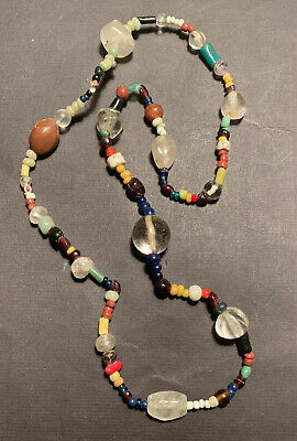Multicolour glass and clay beads, Pyu, Burma (Myanmar), Thailand (Dvaravati)