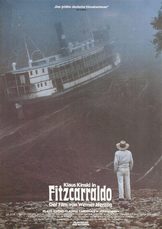 Fitzcarraldo 1982 German A1 Poster