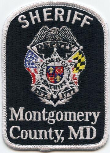 MONTGOMERY COUNTY MARYLAND MD DEPUTY SHERIFF POLICE PATCH