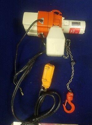 Harrington Electric Chain Hoist 250 Lbs. 10 Ft. Lift Ed250d S Duty Class H2