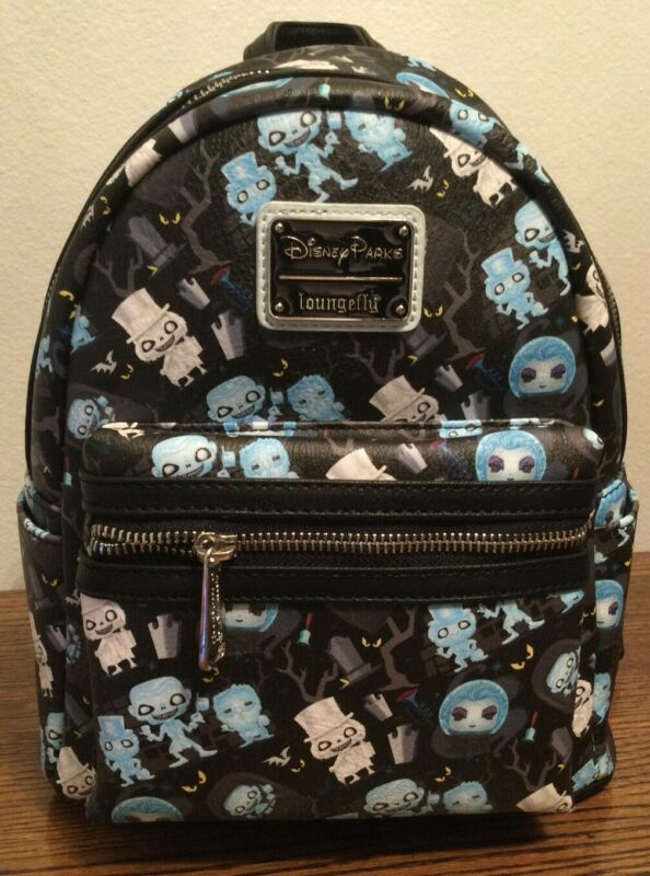 Disney Parks Haunted Mansion Funko Pop Loungefly Mini Backpack 2021 (Brand New)