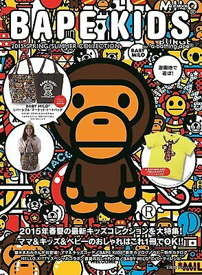 Bape Kids by Bathing Ape 2015 Spring/Summer Collection Kids Fashion Book