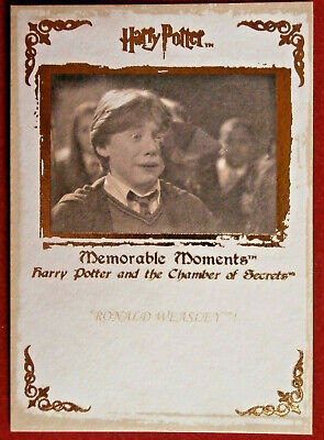HARRY POTTER - MEMORABLE MOMENTS #1 - Card #26 - RON'S HOWLER FROM MOLLY WEASLEY