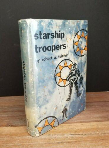 Starship Troopers Robert A. Heinlein 1st Edition Hardcover Dust Jacket 1959