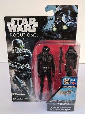 Hasbro Star Wars Rogue One Imperial Death Trooper 3 75  Figure New In Stock Mib
