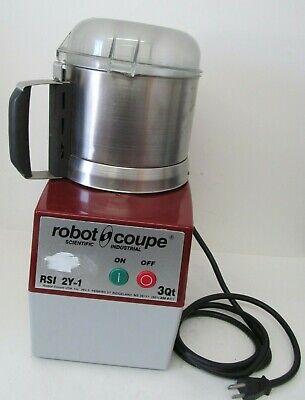 Robot Coupe Rsi 2y-1 Food Processor 3qt W Lid