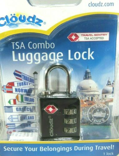 New Cloudz TSA Approved Luggage Lock