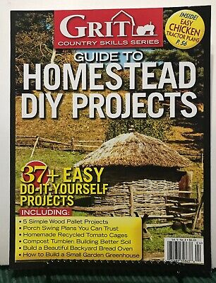 Diy Easy Projects (Grit Guide To Homestead DIY Projects Easy Projects Vol 9 #4 2016 FREE SHIPPING)