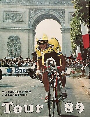 Tour 89 The stories of the 1989 Tour of Italy and Tour de France