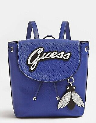 Guess VARSITY POP BACKPACK WITH FLY CHARM* Authentic *