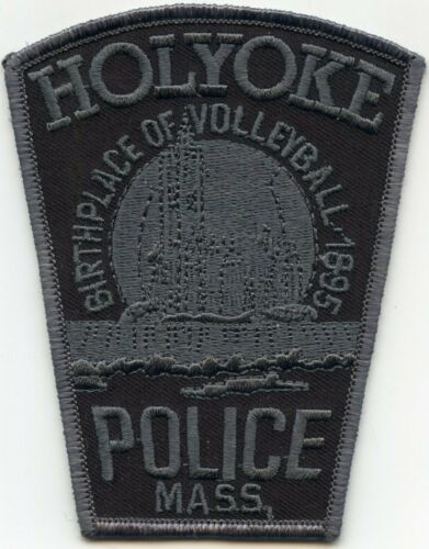 HOLYOKE MASSACHUSETTS MA Birthplace of Volleyball POLICE PATCH