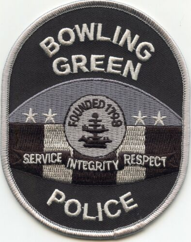 BOWLING GREEN KENTUCKY KY subdued POLICE PATCH