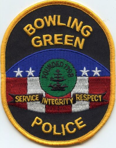 BOWLING GREEN KENTUCKY KY colorful POLICE PATCH