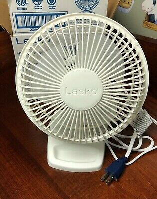 "Lasko Products 6"" Personal Fan- White - 2002W"