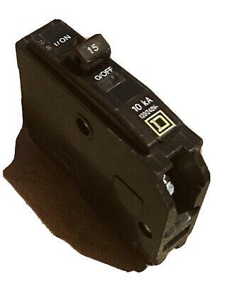 Square D Qo115 Single Pole 15 Amp Circuit Breaker