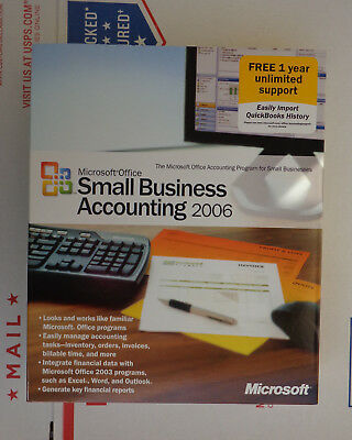 Microsoft Office Small Business Accounting 2006 for sale  Shipping to Nigeria