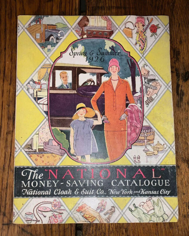1926 Spring & Summer National Cloak and Suit Co. Catalog