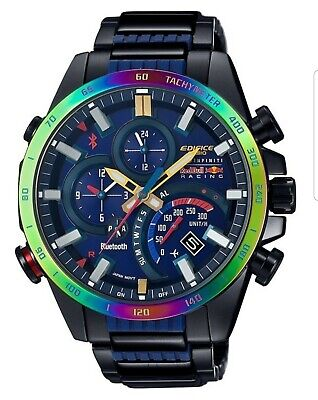 *** RARE *** Limited EDIFICE Red Bull  Discontinued 100% New Mobile Link comprar usado  Enviando para Brazil