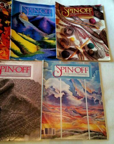 7 SPIN OFF MAGAZINES  1992 SPRING, SUMMER, FALL & WINTER, 1993 Sum, Fall, Winter