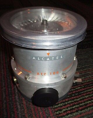 Adixen Alcatel Atp 100 Turbo Molecular Vacuum Pump New Mfg. Refurb. Htf