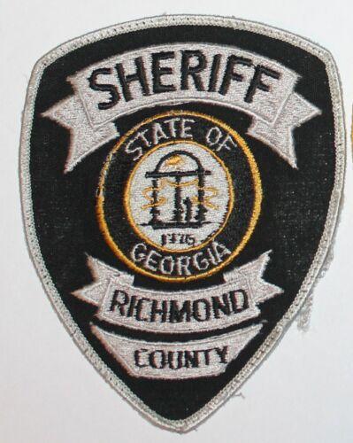 RICHMOND COUNTY SHERIFF Georgia GA Co SD SO Used Worn patch