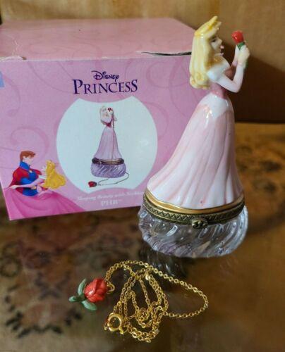 Disney Princess PHB Collection Sleeping Beauty Porcelain Figurine w/Necklace