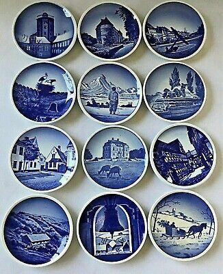 Set of 13 Royal Copenhagen Fajance 3