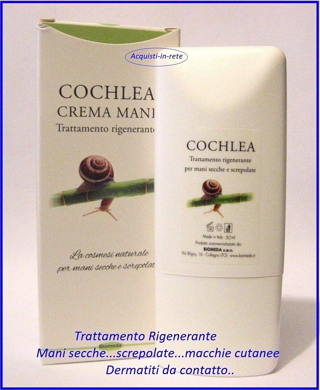 CREMA MANI BAVA DI LUMACA Riparatrice per Screpolature...Dermatite...Macchie..