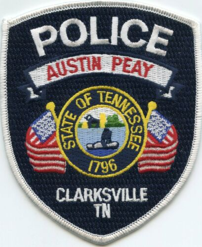 AUSTIN PEAY UNIVERSITY Clarksville TENNESSEE TN CAMPUS POLICE PATCH