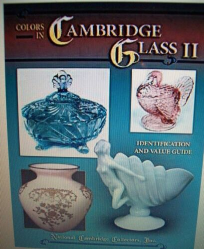 VINTAGE CAMBRIDGE GLASS PRICE GUIDE COLLECTOR