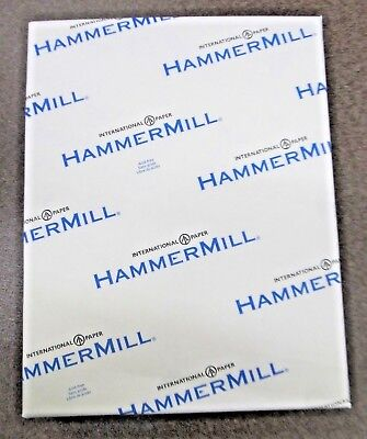 10316-8 Hammermill Paper 8-12 X 11 Case Of 5000 Sheets Goldenrod