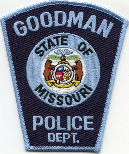 GOODMAN MISSOURI MO POLICE PATCH