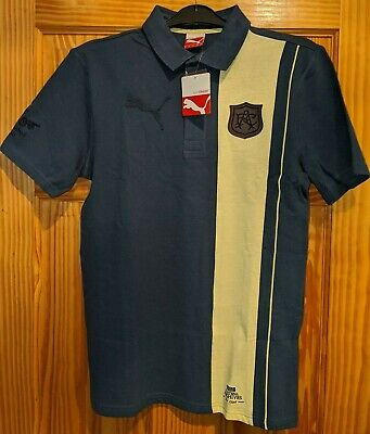 PUMA OFFICIAL ARSENAL ARCHIVES POLO SHIRT MENS SIZE XS NEW WITH TAGS