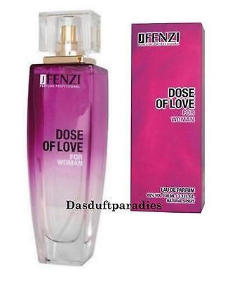DOSE OF LOVE von FENZI Damen Eau de Parfum 100 ml