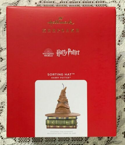 Harry Potter SORTING HAT Ornament With Sound and Motion 2021