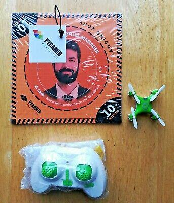 Mini Drone Cavity Quadcopter Drone Pyramid Analytics w/ Landing Pads & Parts