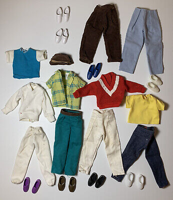 Ken Doll Clothing And Accessories Lot 80s & 90s