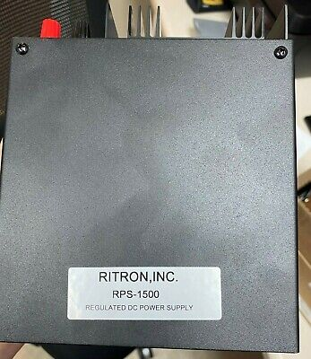 Ritron Rps-1500 Rs-4a Dc Power Supply