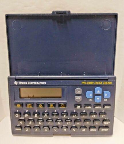 Texas Instruments PS-2400 Calculator Data Bank Scheduler Alarm