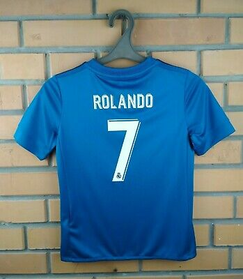 6743e83ae Ronaldo Real Madrid jersey kids 9-10 y. 2018 shirt B31079 soccer football  Adidas
