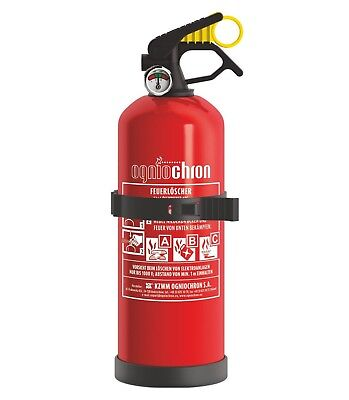 Autofeuerlöscher GP-1x ABC 1kg mit Halterung + Manometer / Kfz Feuerlöscher